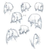Some hairstyles by Moorzz