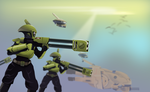 Tau Pathfinders - Inkscape Vector by Seothen