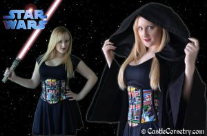 Star Wars Corset by CastleCorsetry