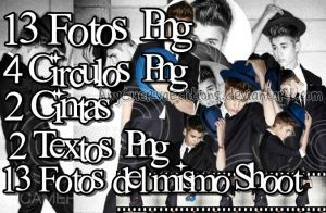 Pack de Fotos Png de Justin Bieber by AnyCuervaEditions