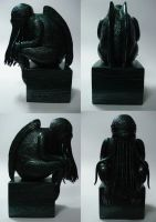 Cthulhu statue 1 by edithemad