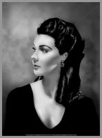 Vivien Leigh by glimmeringlight