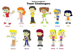 TAW's Team Challengers by TheAwesomeWorld