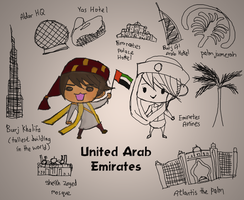 United Arab Emirates by Marcusqwj