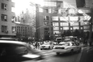 New York in Rush Hour by PortraitOfaLife