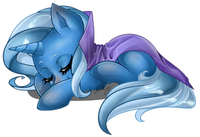 Sleepy Trixie by ParkaPassions