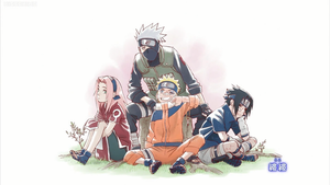 NARUTO SERIES Team 7 by weissdrum