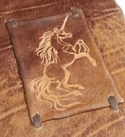 Mythic Unicorn Journal by gildbookbinders