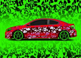 Green-Red -Scion by Morfiuss