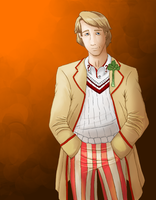 Fifth Doctor by DrakenHeart219