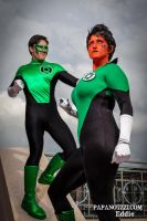 Green Lantern Shoot - 01 by PAPANOTZZI