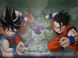 Dragon ball Z Dekstop - TheGraphicsArts || Nola - by TheGraphicsArts