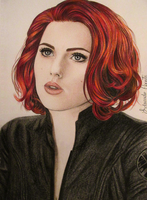 Scarlett Johansson - Black Widow (The Avengers) by EduardoCopati
