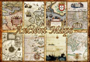 Ancient maps by auRoraBor