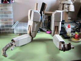 Completed robot arms by Pompster