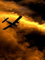 Flying into Fire by Eicats