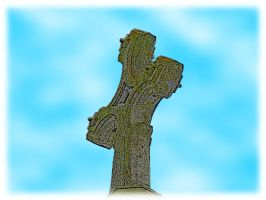 Lent Day 9 - Cathedral Cross by he4rty