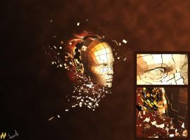 Face Abstract by MeyGraph