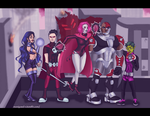 Commission: Teen Tyrants by Mariyand-R