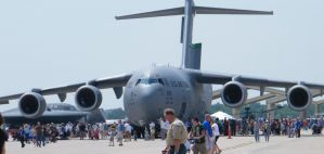 C-17 on display by wolf74145