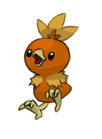 Torchic by aloafofbrad