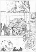 The Thing Marvel Sample Pag 4 by IgorChakal