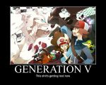 Generation V Demotivator by novaburst16