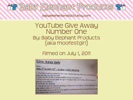 .: CLOSED - YT Giveaway :. by moofestgirl