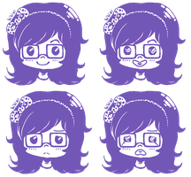 purple expressions by ches-kyu