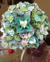 Origami Bouquet  by KanraXiong