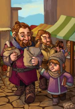 Brothers Ri Market Day by Mad-Hattie