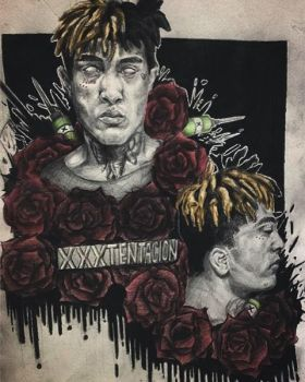 Xxxtentacion by ghostgirlgotscared