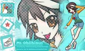 .+Ms-Oblibious Contest Entry+. by tobi2moodring