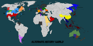 Alternate History World Map Mk-2 by Norbertus1757