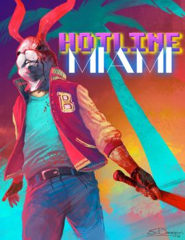 Hotline Miami: The Jacket by steven-donegani