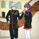 Allen X Lenalee DGM - ToGeThEr - [CB] by Timagirl