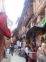 Streets of Bhaktapur 04 by Woolfred