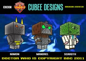 Cubee Who - 1 by mikedaws