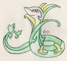 Serperior by Shabou