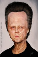 Christopher Walken by CarlosRubio