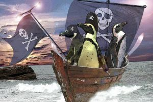 Piracy of the penguins? by Whiterabbit1985
