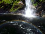Waterfall Rainbow by SquirrelGirl111