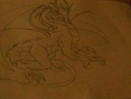 dragon for a friend of mine by zita952