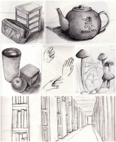 Sketchbook Overview by La-Chapeliere-Folle