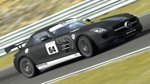 Mercedes SLS AMG Stealth GT5 by JRRacing64