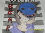 Wanted Scar the serial killer by blackknight3464