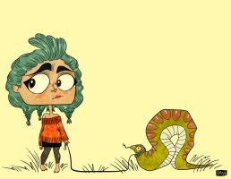 Snake Walk by PickledAlice