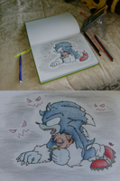 Drawing Weresonamy by SuperSkyseeker