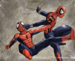 Spider-Men with an E by Manganiac