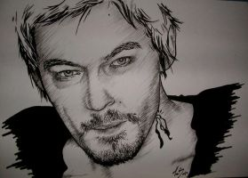Norman Reedus by Pringle172